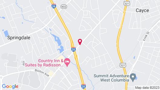 Econo Lodge Inn & Suites Map