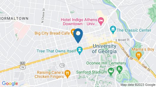 Days Inn by Wyndham Athens, GA Map
