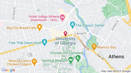 Holiday Inn Athens-University Area, an IHG Hotel Map