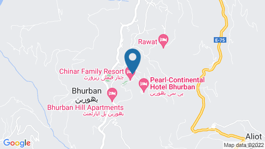 Chinar Family Resort Map