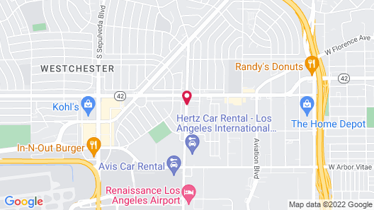 Holiday Inn Express Los Angeles Airport, an IHG Hotel Map