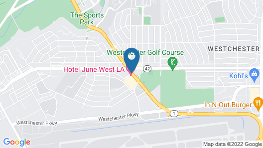 Hotel June Map