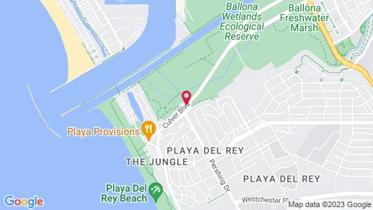 Inn at Playa del Rey Map
