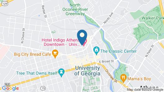 Hotel Indigo Athens University Area, an IHG Hotel Map