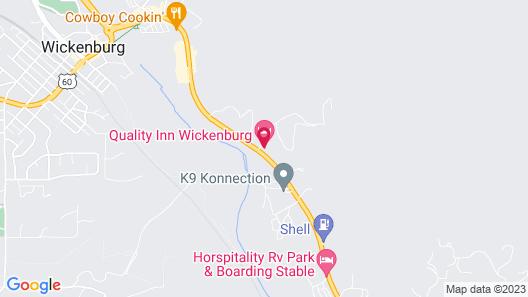 Quality Inn Wickenburg Map
