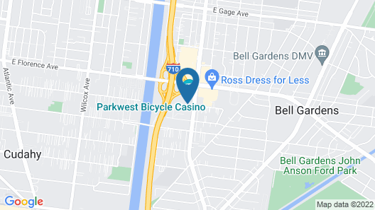 The Bicycle Hotel & Casino Map