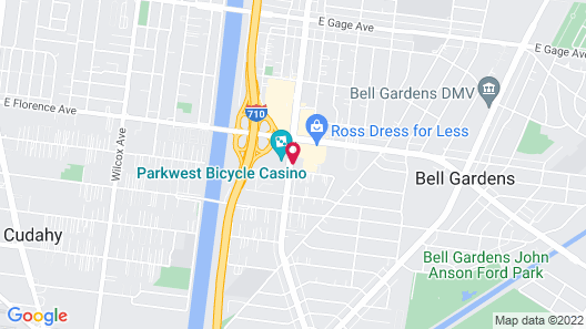 Quality Inn & Suites Bell Gardens - Los Angeles Map