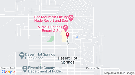Desert Hot Springs Spa Hotel Map