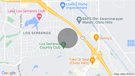 Heart of LA Large Single Level Pool BBQ Home Map