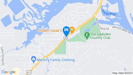 Super 8 by Wyndham Gadsden AL Map