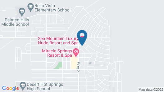 Sea Mountain Inn Nude Resort - Adults Only Map