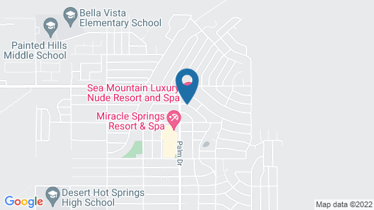 Sea Mountain Nude Resort and Spa Hotel Map