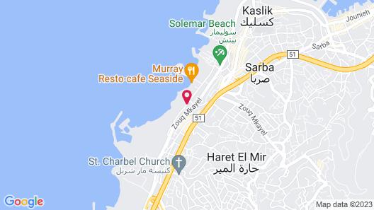 Senses Hotel and Resort Map