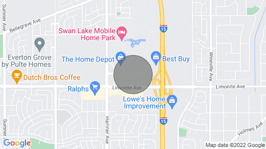Ontario Airport Townhouse Map