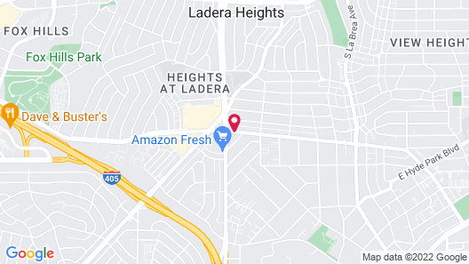 Best Western Airport Plaza Inn - Los Angeles LAX Hotel Map