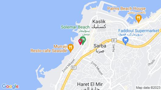 Veer Luxury Boutique Hotel & Resort Map