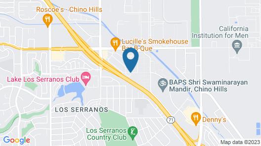 Ayres Hotel Chino Hills Map