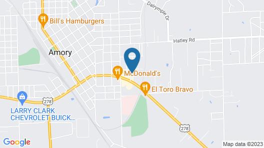 Briarwood Inn Map