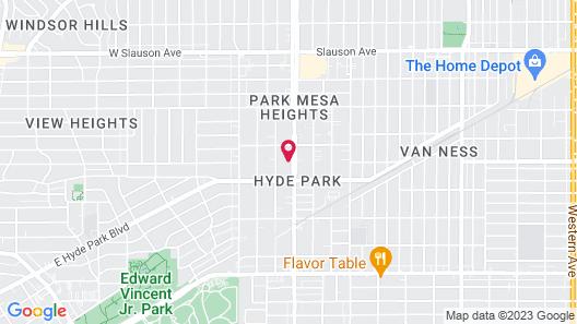 Cornett Motel Map