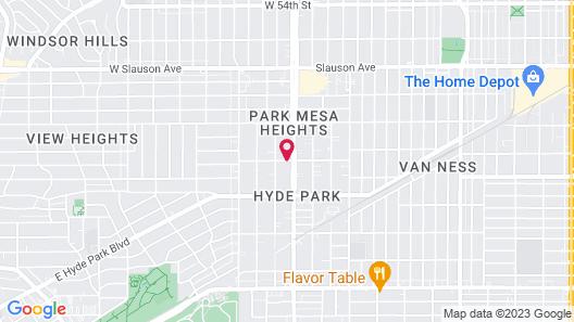Crenshaw Inn Motel Map