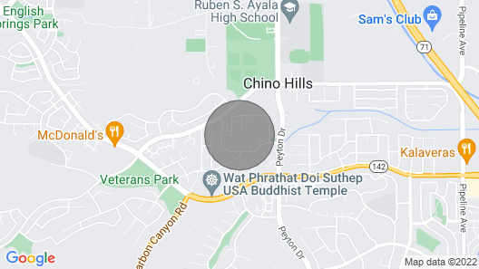Chino Hills Family House Map