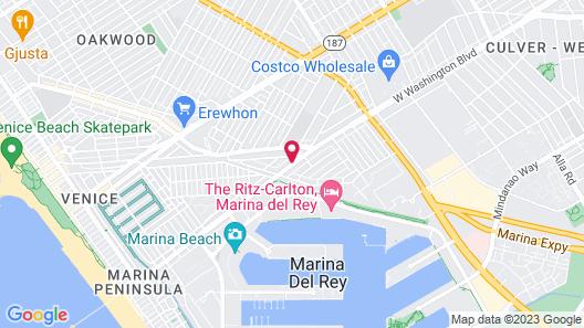 The Kinney - Venice Beach Map