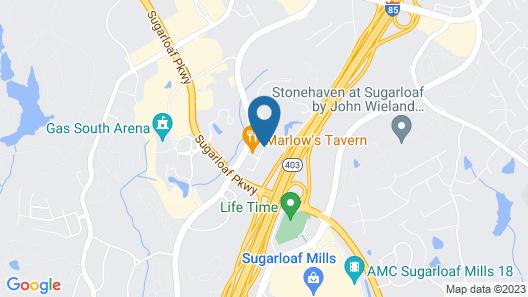 Residence Inn Atlanta NE/Duluth Sugarloaf Map