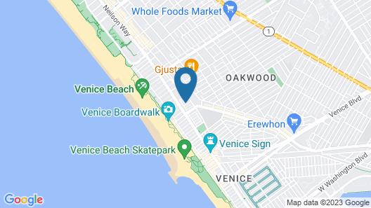Quintessential Venice Beach Condo Map