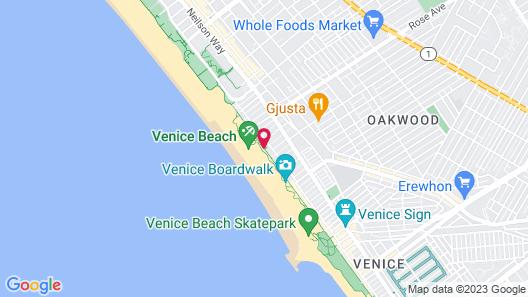 Su Casa at Venice Beach Map