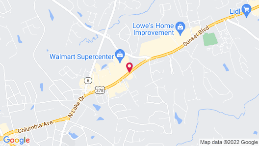 Holiday Inn Express Hotel & Suites Lexington-Hwy 378, an IHG Hotel Map