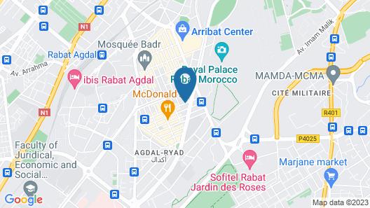Mihad Hotel Map