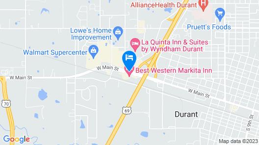 Best Western Markita Inn Map