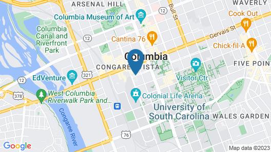 Hilton Columbia Center Map