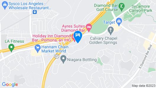 Holiday Inn Diamond Bar - Pomona Map