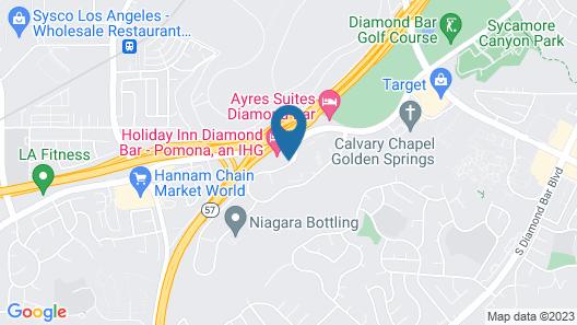 Holiday Inn Diamond Bar - Pomona, an IHG Hotel Map