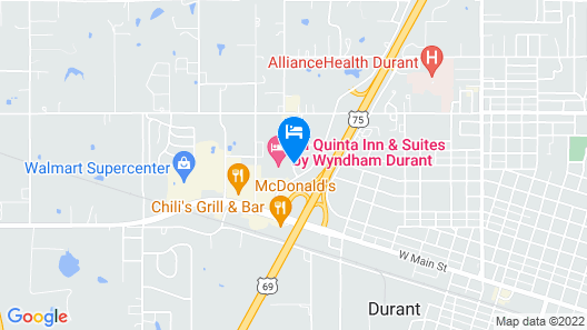La Quinta Inn & Suites by Wyndham Durant Map