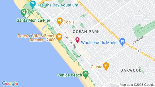 Sea Shore Motel Map