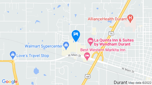 Holiday Inn Express Hotel & Suites Durant, an IHG Hotel Map