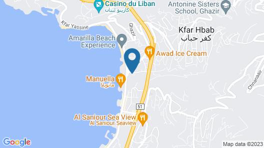 Luxor Hotel Map