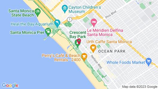 Bayside Hotel Map