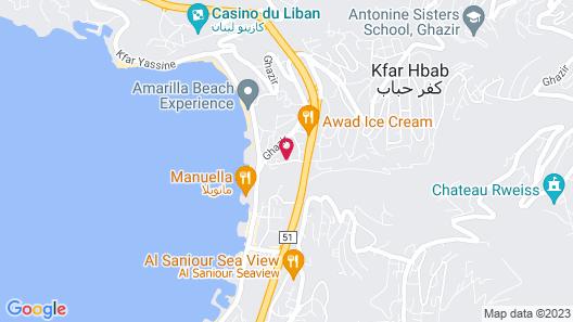 VOTRE Hotel Map