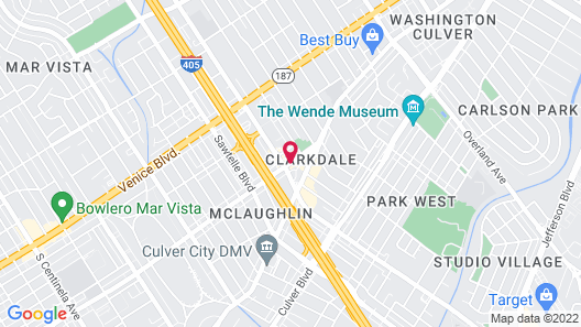 Travelodge by Wyndham Culver City Map