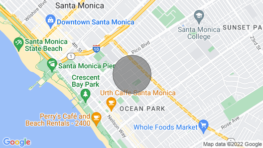 Studio Room & Full Bathroom 6 Blocks to the Beach! Map