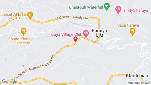 Villetta Di Faraya Map