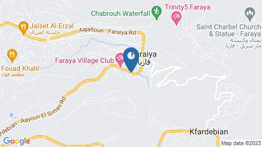 Chalets De Faraya Map