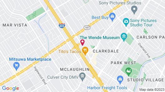 Ramada by Wyndham Culver City Map
