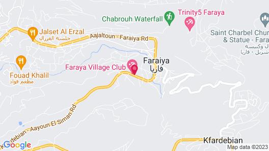 Soiree De Faraya Map