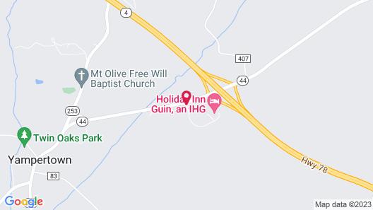 Holiday Inn Guin Map