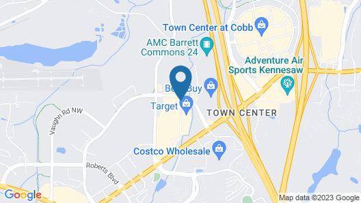 Hilton Garden Inn Atlanta NW/Kennesaw Town Center Map