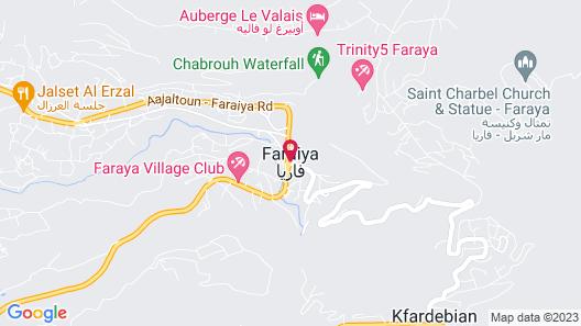 Faraya Loft Map